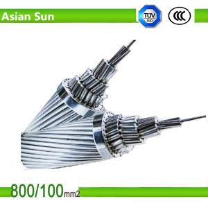 Bare Aluminum Stranded AAC Overhead Power Cable pictures & photos