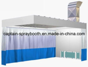 Auto Spray Booth with Preparation Room pictures & photos