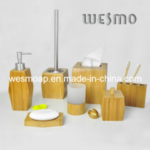 Carbonized Bamboo Bath Coordinates 7sets (WBB0609A) pictures & photos