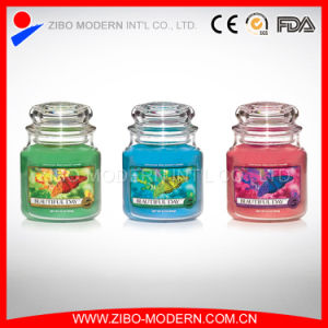 Wholesale Cheap Clear Glass Candle Holder with Lid pictures & photos