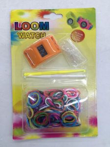 Plastic Watch with DIY Loom Watchband pictures & photos