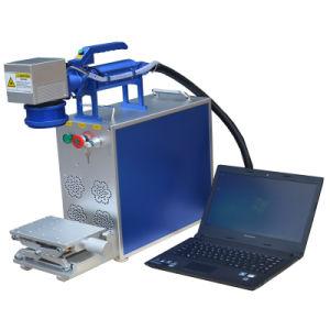 Fiber Laser Marking Watch Logo Machine pictures & photos