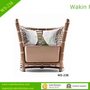Big Wicker Weaving Patio Sofa Chair