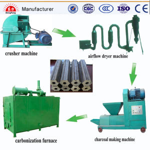 BBQ Use Sawdust Charcoal Machine