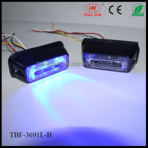 Blue Color LED Car Surface Mount Lightheads in Lin3 Lens pictures & photos