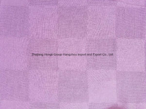 Polyester Checks Chiffon Fabric for Ladies′ Garment pictures & photos