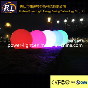 Light up Rechargeable Illuminated Plastic LED Pool Ball pictures & photos