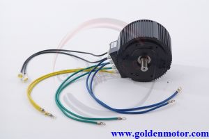 CE 80nm Air Cooling 10kw Brushless Electric Motorcycle Motor pictures & photos