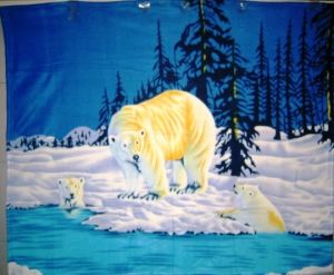 Newest Printed Designs Polar Fleece Fabric pictures & photos