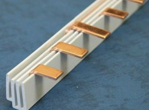 Copper MCB Busbar Pin Type 3p pictures & photos