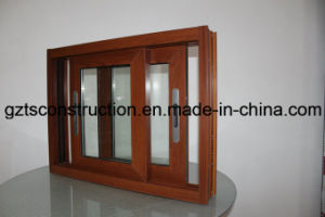 Aluminium Sliding Window with Security Flyscreen pictures & photos