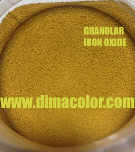for Paint Coating Bead Granular Iron Oxide Yellow G920 pictures & photos