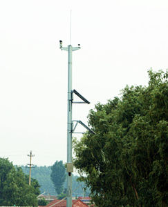 Power Transmission Steel Tubular Pole Tower pictures & photos
