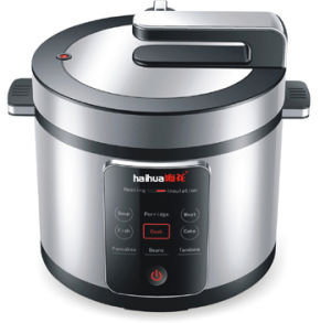Mome Touch Pressure Cooker with LCD Display