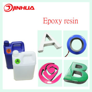 High Brightness White LED Channel Letter Epoxy Resin pictures & photos