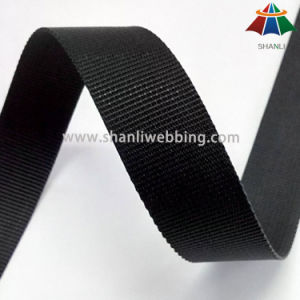 on Sale! 1 Inch Black Flat Nylon Webbing pictures & photos