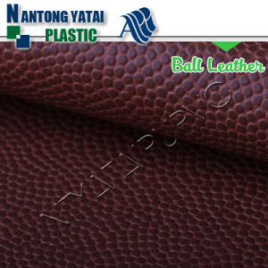 Abrasion Resistant PU Elastic Synthetic Basketball Leather with