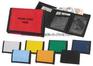 Nylon Velcro Closed Sport Wallet Purse Bag (MS9022) pictures & photos