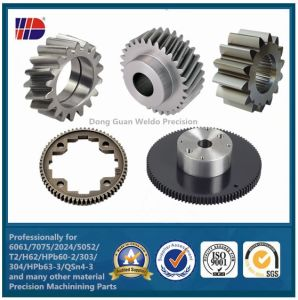 OEM Precision Small Steel Helical Gear Helical Teeth Spur Gears pictures & photos