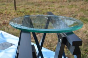 Prefect Process Fine Polished Edges Furniture Tempered Glass pictures & photos