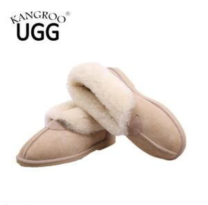 Classic Winter Sheepskin Men Casual Shoes in Sand pictures & photos