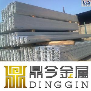 Galvanized Strong Steel Post Highway Guardrail Manufacturer pictures & photos