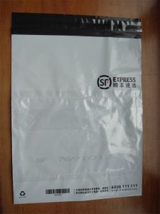 Disposable Custom Printed Courier PE Plastic Bags for Transportation (FLC-8604) pictures & photos
