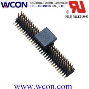 1.0 Mm Single Row 180 ° SMT Pin Header pictures & photos