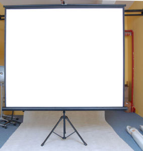 Tripod Projection Screen Projection Screens Tripod Projection Screen pictures & photos