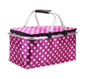 Foldable Insulated and Thermal Picnic Cooler Basket (MS3136) pictures & photos