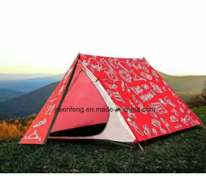 Printed Customized Hiking Portable Outdoor Traveling Waterproof Camping Tent pictures & photos