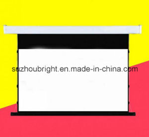 16: 9 100 Inch 120 Inch Tab Tension Electric Projector Screen