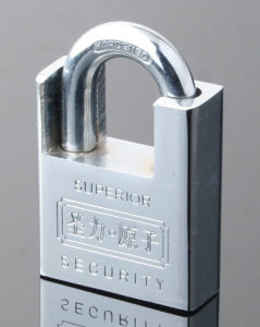 Chrome Plated Atom Shackle Protected Padlock (ASP) pictures & photos
