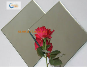 4-6mm Aluminum Mirror/ Silver Mirror with Print Words pictures & photos