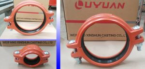 Grooved Coupling and Fittings for Fire Sprinkler System with FM UL pictures & photos