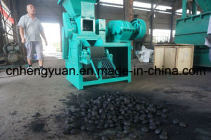 Coal and Charcoal Powder Ball Briquette Making Machine for Sale pictures & photos