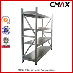 Steel Shelf Light Duty 3 Shelf Steel Rack for Supermarket and Store Use pictures & photos