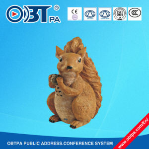 Small Animals Outdoor Lawn Speaker /Squirrel Land Loudspeaker for Public Address System