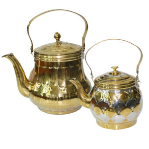 Gold Plating Stainless Steel antique water kettle pictures & photos