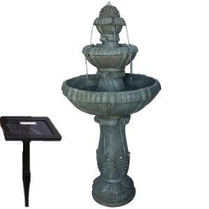Outdoor Garden Solar Fountain with Plastic Solar Panel pictures & photos