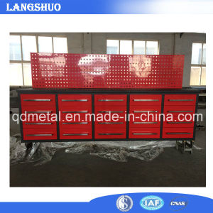 High Quality Cheap 112 Inch Steel Workbench with 20 Drawers pictures & photos