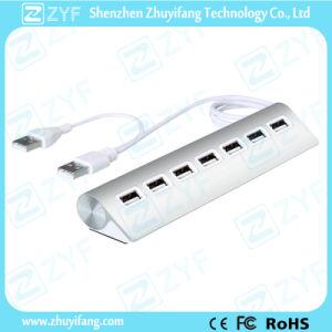 High Grade Aluminum Design 7 Port USB Hub 3.0 (ZYF4104)