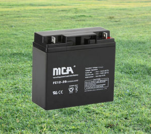 12V20ah Advanced Sealed Lead Acid Battery AGM pictures & photos