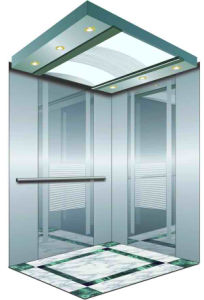 Passenger Elevator with Mirror Etching Stainless Steel pictures & photos