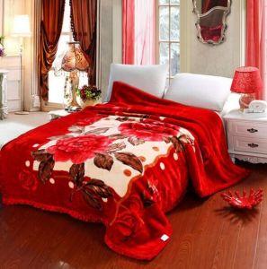 Double Ply Raschel Blanket pictures & photos
