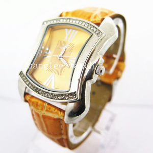Fashion Style Alloy Watch Women′s Wrist Quartz Watch (HL-CD19) pictures & photos