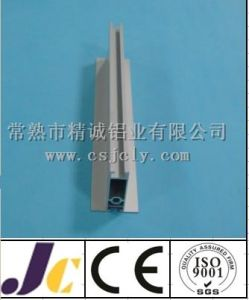 6063t5 Silver Anodized Aluminum Profile with Decoration (JC-C-90080) pictures & photos