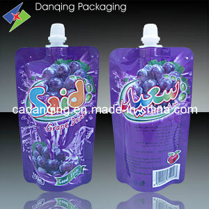 New Design Hot Sale Juice Pouch with Spout (DQ0098) pictures & photos