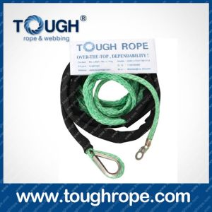 Tr-05 ATV Winch Dyneema Synthetic 4X4 Winch Rope with Hook Thimble Sleeve Packed as Full Set pictures & photos