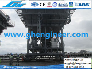 Gypsum Handling Generator Driven Movable Feeder Hopper pictures & photos
